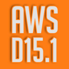 AWS D15.1 Railroad Welding Specification For Cars And Locomotives